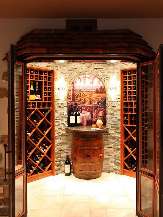 复古欧式酒窖建造